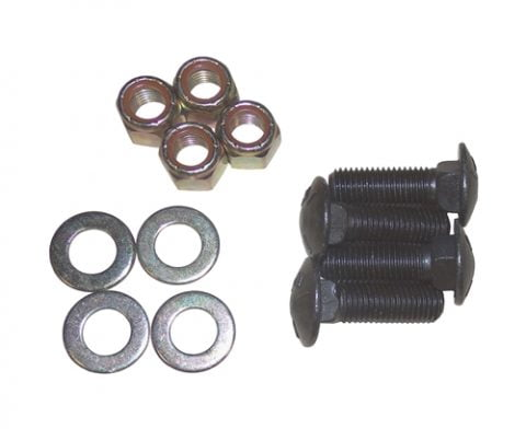Boss Part # HDW16925 - Loader Plow Cutting Edge Hardware Bolt Kit