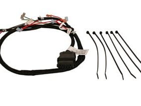 Western Plow Part #26358 - 7 Pin Plow Side Pump Plug Wiring Harness for V Plow