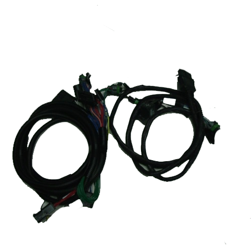 boss snow plow lights wiring harness to
