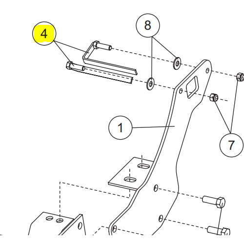 Sno Way Plow Wiring Diagram moreover 67846 Western Ultramount Stand Assembly Passengers Side Mvp Plus Wideout Pro Plus moreover Western Part 63710 1 Mount Kit Ut Ford 1349 as well Western Part 35067 Mount Undercarriage Kit For Nissan Titan Xd 2018 Up additionally Fisher Plow Headlight Wiring Diagram. on western ultramount frame
