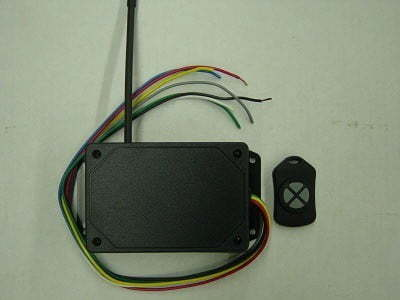 4DP4L0EFA wireless remote kit for dc applications
