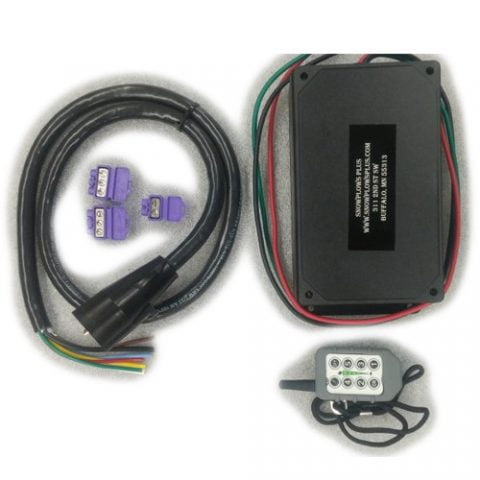 Bobcat UTV Spreader Wireless Controller Conversion Kit - Plug N Play into 7 Prong
