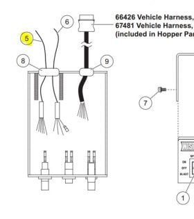 Curtis Snow Plow Wiring Diagram in addition Fisher Minute Mount Parts Diagram as well Ice Breaker Two Light Cab Control Parts besides Blizzard Plow Wiring Diagram also Western Mvp Wiring Diagram. on western snow plow light wiring harness