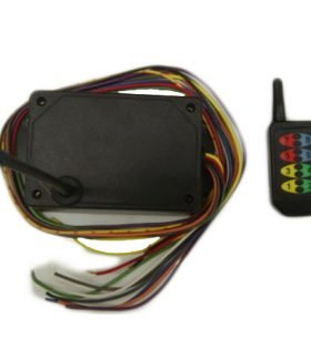 8DP0L4EFA - 8 Button Wireless Remote Control Unit - 4 Latching - 4 Momentary