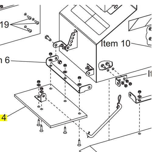 Western Plow Part 93148 14 14x34 Tapping Screw additionally Install Western Unimount Plow further Western Part 48797 Top Screen Bag Splitter Kit additionally Boss Plow Part Hyd09967 Hose 14 X 14 06morb X 14mnpt likewise Western Plow Part 99139 Chute Mid Panel Assembly Sh El. on western snow plow truck mounts