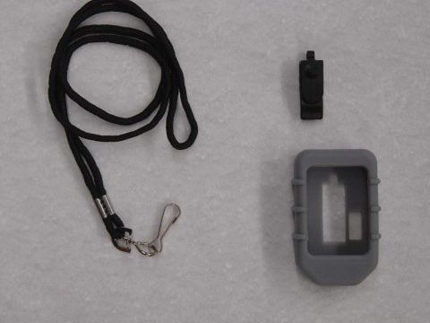 bootlanyard - Rubber boot and lanyard for 8 button transmitters