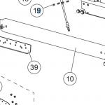 Western Part # 51057 – LOWER RAIL RIGHT