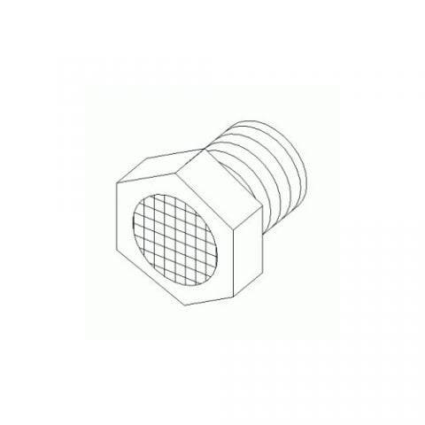 Boss Part # HYD07016 - Breather Fitting Vent Cap 1/8 MP