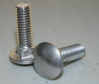 Western Part # 5572 - 5/8 - 11 X 2 CARRIAGE BOLT G5