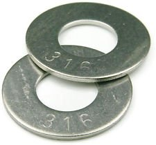 FLAT WASHER 1/4 TYPE A WIDE