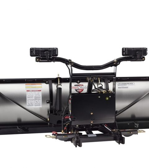 Boss HTX Stainless Steel Snow Plow
