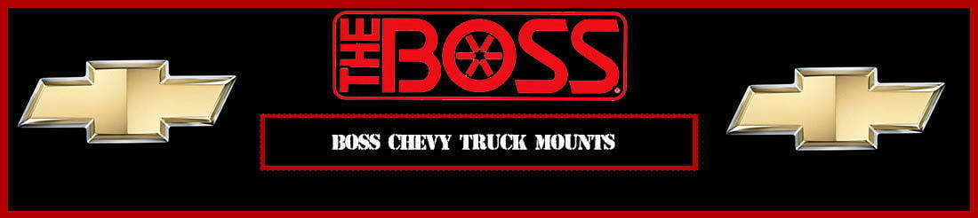 Boss Plow Mounts For Chevy Gmc