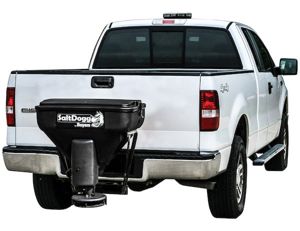SaltDogg TGS02 Tailgate Spreader - Exclusive Plug N' Play Wireless Controller