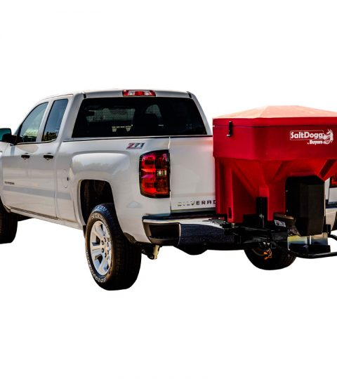 SaltDogg TGS03 Tailgate Spreader With Wireless - EXCLUSIVE - Red Hopper