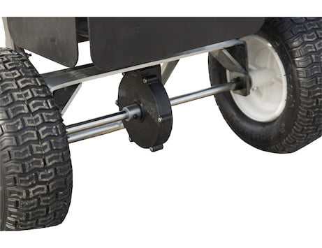 SaltDogg® 1.5 Cubic Foot Walk Behind Broadcast Spreader with Stainless Steel Frame