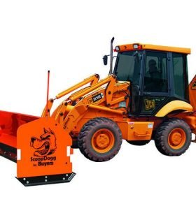 SnowDogg 2602112 ScoopDogg Backhoe Series Pusher
