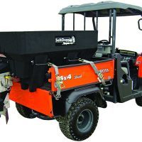 SaltDogg SHPE0750 Poly Electric Drive Hopper Spreader