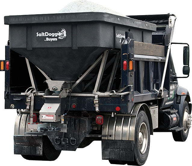 SaltDogg SHPE6000 Hopper Salt Spreader for sale