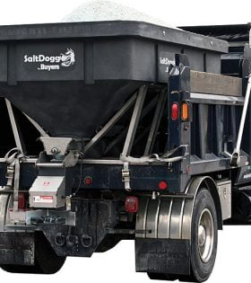 SaltDogg SHPE6000 Poly Electric Drive Hopper Spreader