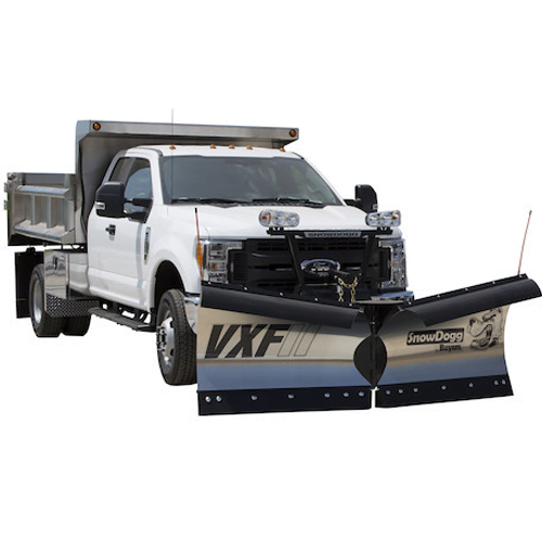 snowdogg vxf85 gen ii v plows 8 5ft stainless steel plows. Black Bedroom Furniture Sets. Home Design Ideas