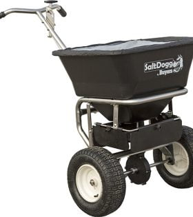 SaltDogg WB201B Stainless Steel Walk-Behind Spreader