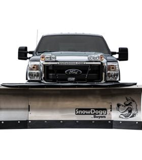SnowDogg XP810 - 8ft - 10ft Expandable Straight Blade Winged Snow Plow