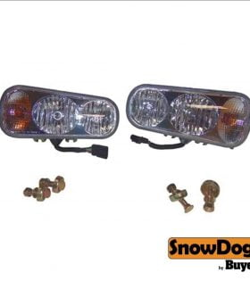 SnowDogg/Buyers Products 16160700, Plow Light Kit Pair