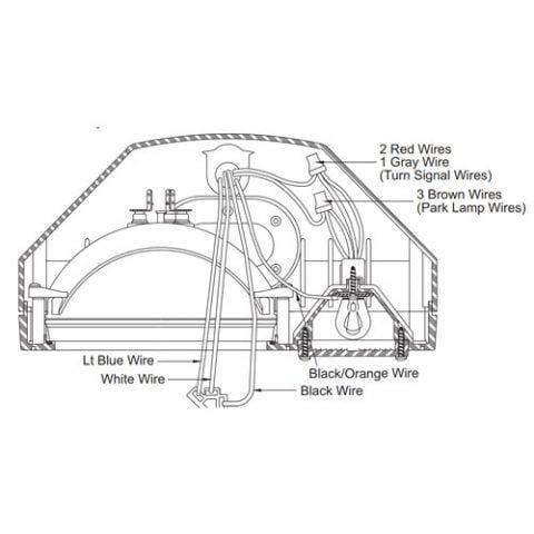 Western Plow Part #26377 - PLOW LIGHTING HARNESS 11 PIN on