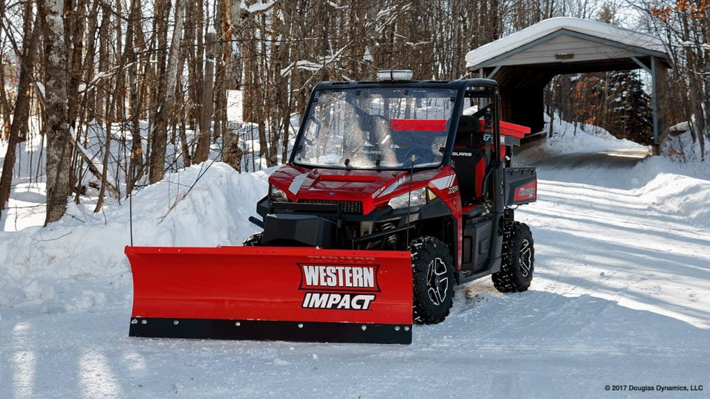 Western Impact UTV Straight Blade Snow Plow Replacement Parts