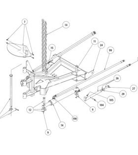 VMD A-Frame Parts