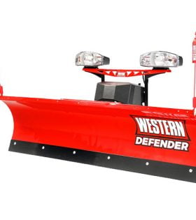 Western Defender Compact Snow Plow - Personal Plow For Small Vehicles