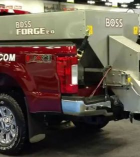 Boss Forge 2.0 Spreader Stainless Steel Hopper Spreader