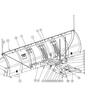 SnowDogg Plow Parts by Plow Model