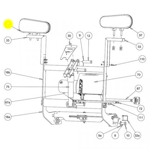 Exhd hardware besides Snowdogg Part 16160734 Harness Light Internal together with Snowdogg Part 16160734 Harness Light Internal moreover  on buyers plow wings