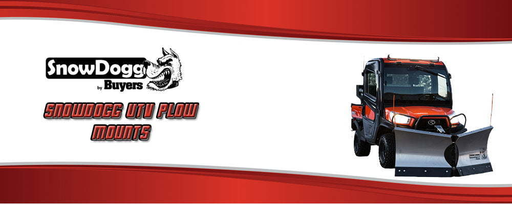 SnowDogg UTV Plow Mounts