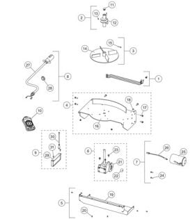 Western 300W Drive Component Parts