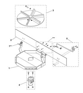 Western UTS Spinner Assembly