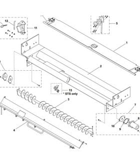Western UTS Trough Assembly Parts