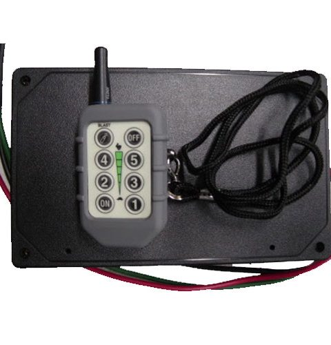 600DC – Single DC Motor Variable Speed Control – Universal Electric Spreader Wireless Controller