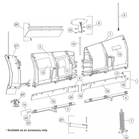 Wiring Diagram For Western Plow as well Meyer Ez Mount Plow Wiring Diagram besides Meyers Snow Plow Wiring Harness likewise Frigidaire Oven Wiring besides Western Plow Parts Diagram. on western plow headlight wiring diagram