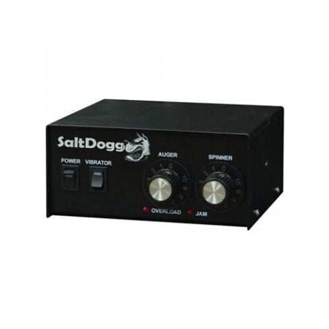 SaltDogg Spreader Part 3016934 V Box Spreader Controller Electronic Features Dual Motor Controls & Built In Vibrator Switch