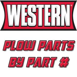 Western Plow Parts by Part #