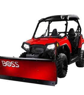 Boss UTV Straight Blade Plows