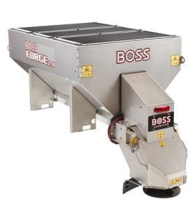 Boss Forge 2.0 Stainless Steel Hopper Spreader