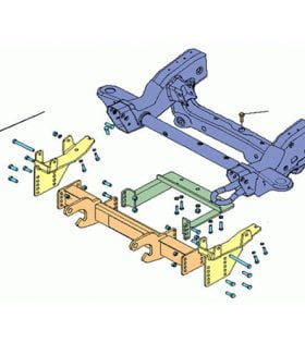 Boss RT3 Mount Undercarriage - 2011-Up GM 3/4 and 1 Ton