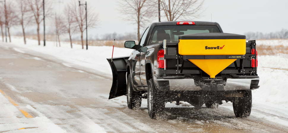SnowEx Spreaders and Snow Plows