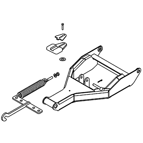 boss vxt plow pushframe parts