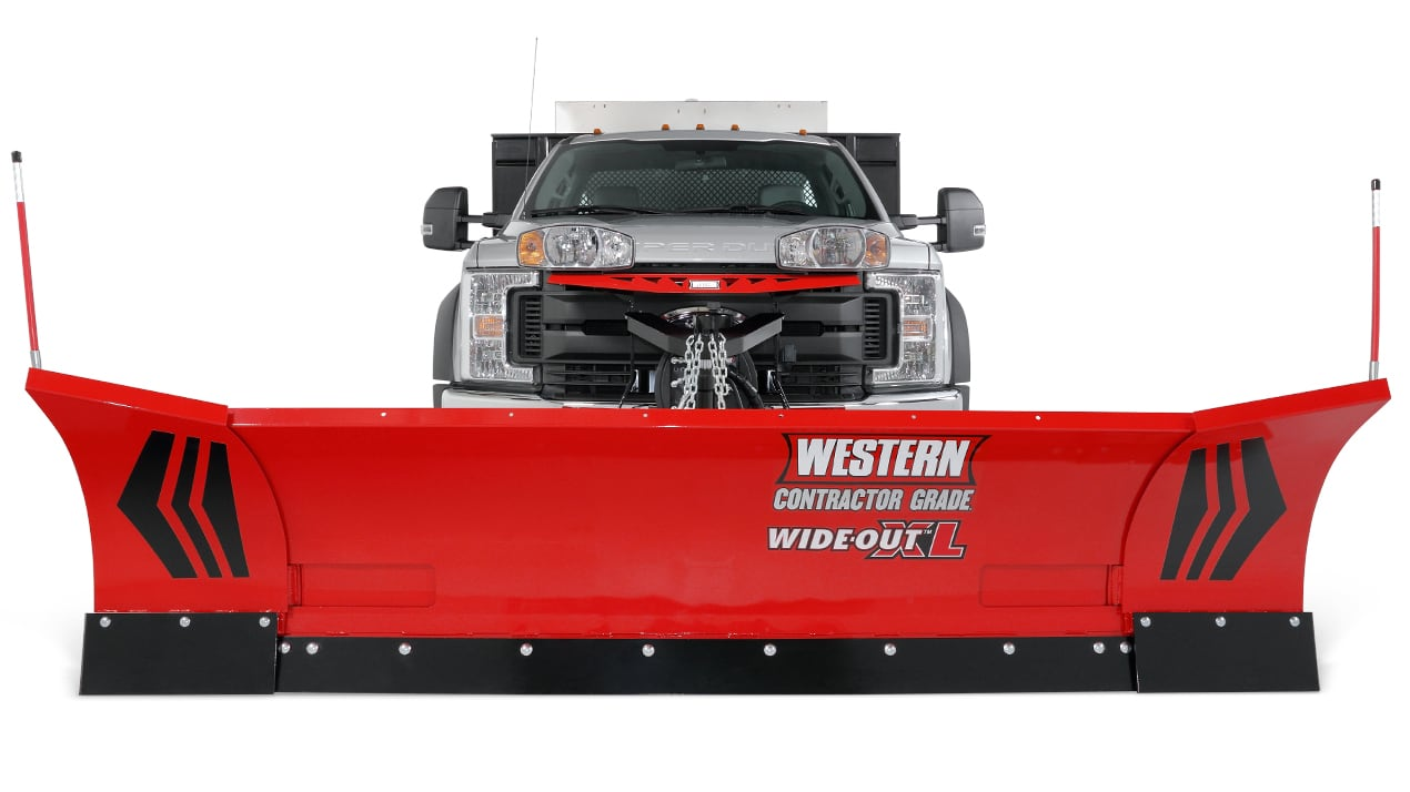 Western Wideout XL 11ft plow