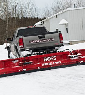 Boss Snowplow Drag Pro Back Blade Snow Plow