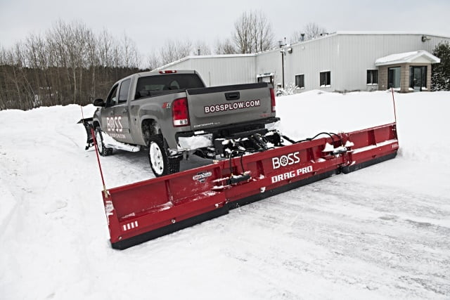 Boss Drag Pro Back Blade Snow Plow